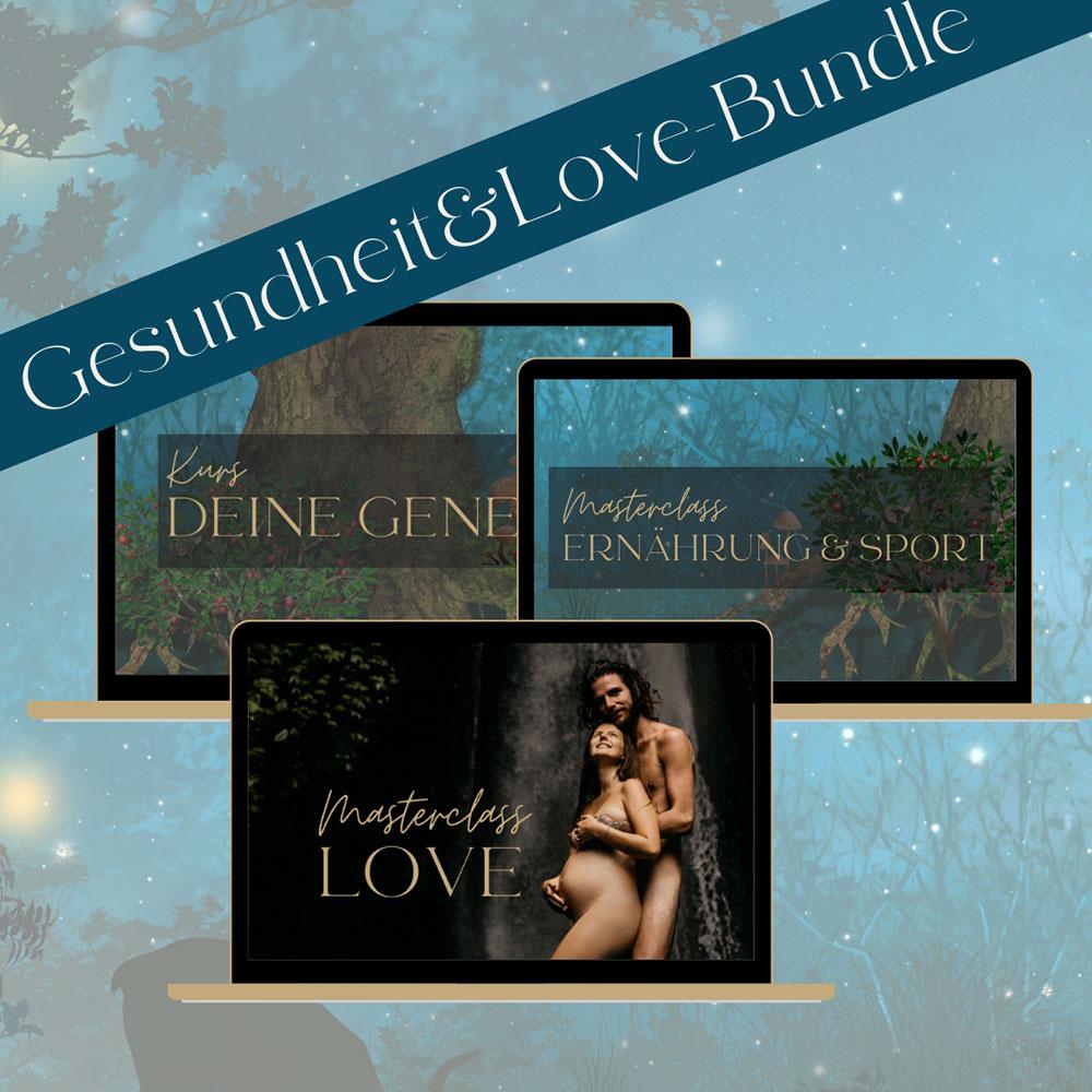 Selbstentdeckung Human Design Bundle Kurs Genetik, Masterclass Love & Masterclass Ernährung & Sport