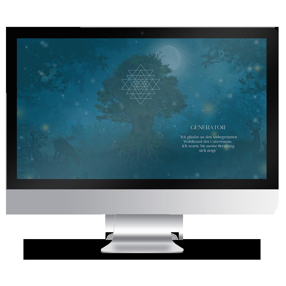 Download Human Design Typ Generator Hintergründe Desktop