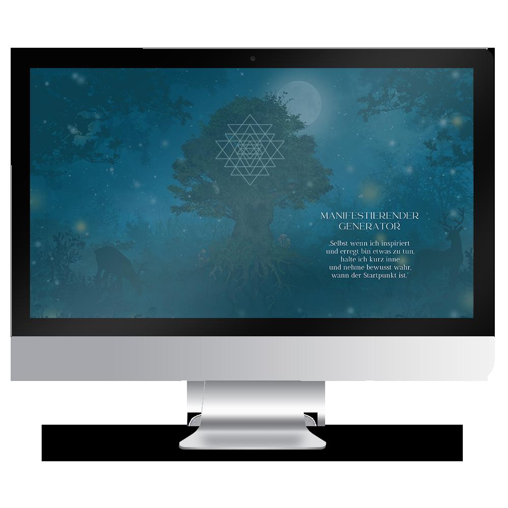 Download Human Design Typ Manifestierender Generator Hintergründe Desktop