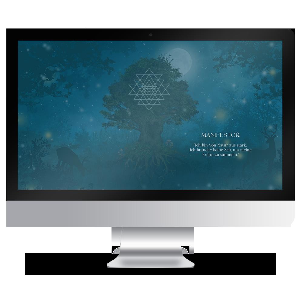 Download Human Design Typ Manifestor Hintergründe Desktop