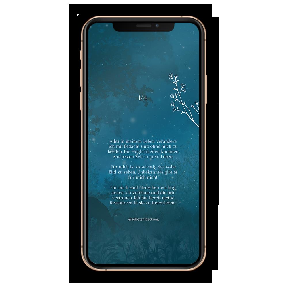 Download Human Design Profil 1/4 Hintergrund Mobil