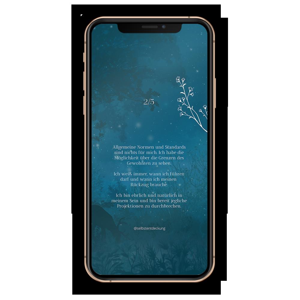 Download Human Design Profil 2/5 Hintergrund Mobil