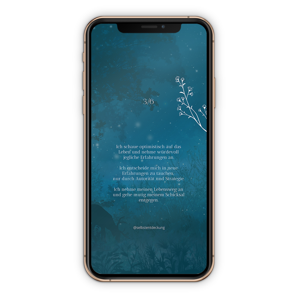 Download Human Design Profil 3/6 Hintergrund Mobil