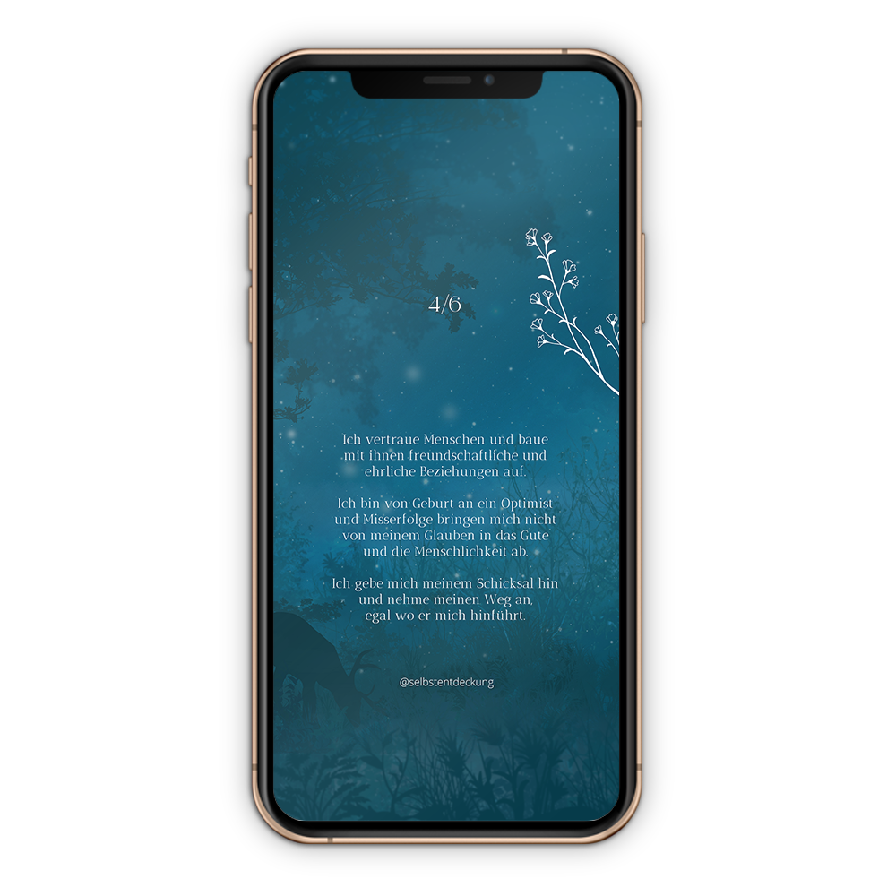 Download Human Design Profil 4/6 Hintergrund Mobil