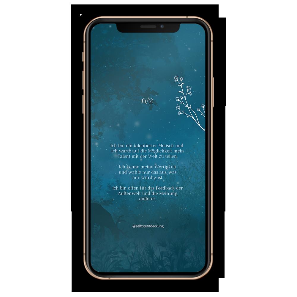 Download Human Design Profil 6/2 Hintergrund Mobil