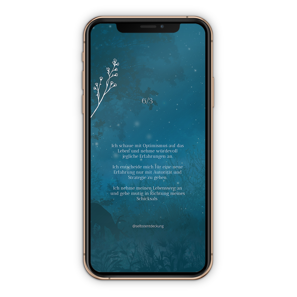Download Human Design Profil 6/3 Hintergrund Mobil