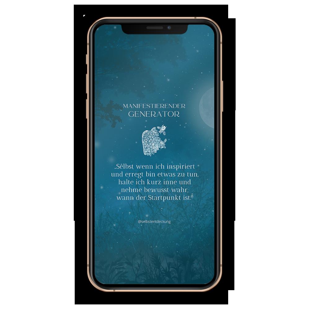 Download Human Design Typ Manifestierender Generator Hintergründe Mobil