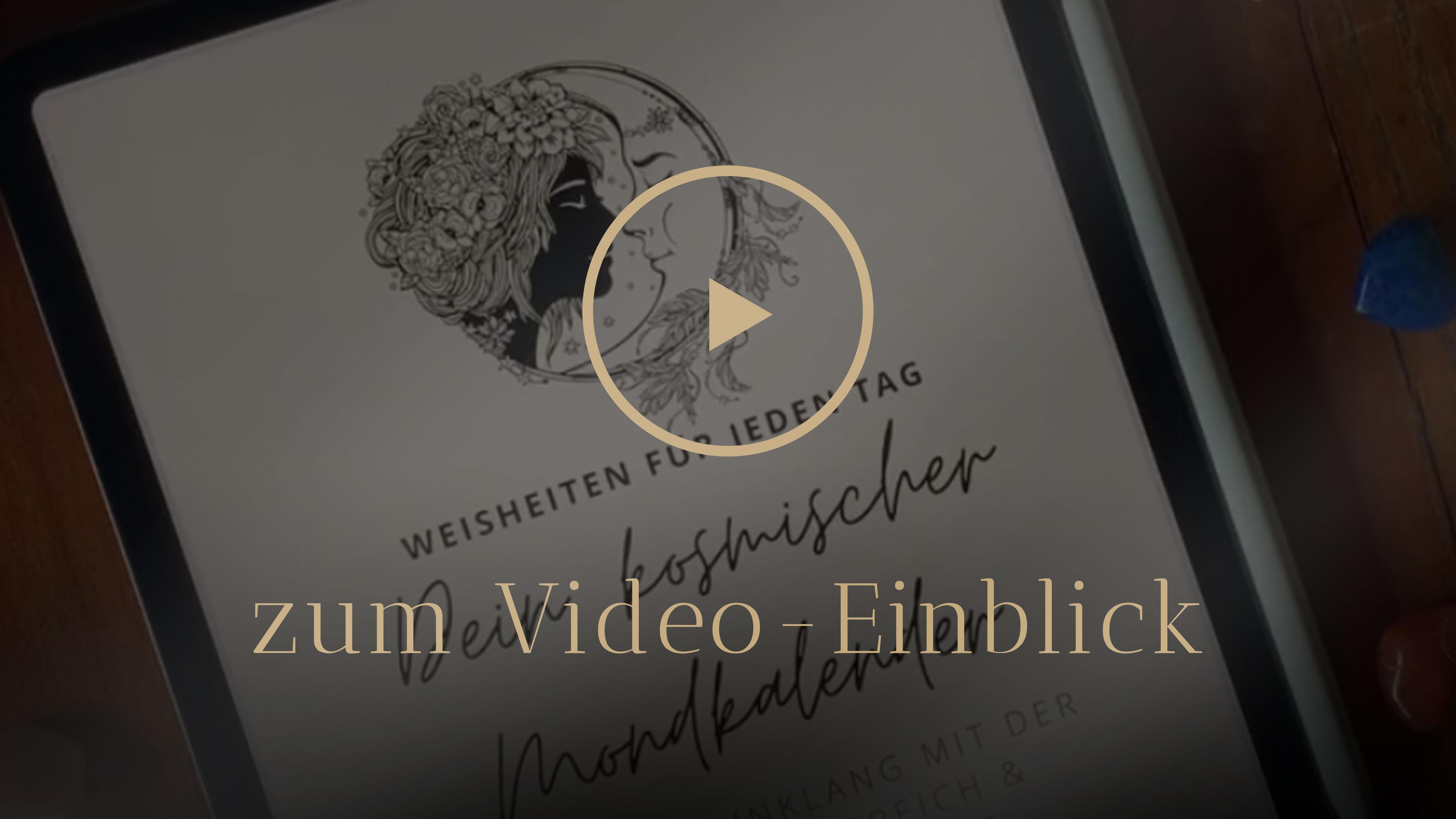 Selbstentdeckung Human Design Mondwissen Video Einblick